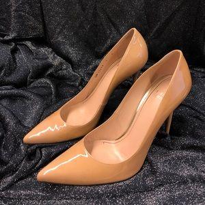 STUART WEITZMAN Nouveau Pump Adobe Aniline Heels